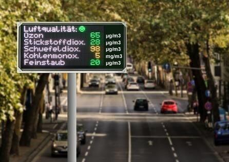 LOGO_Anzeige von Emissionswerten, Leistungswerten und Messwerten