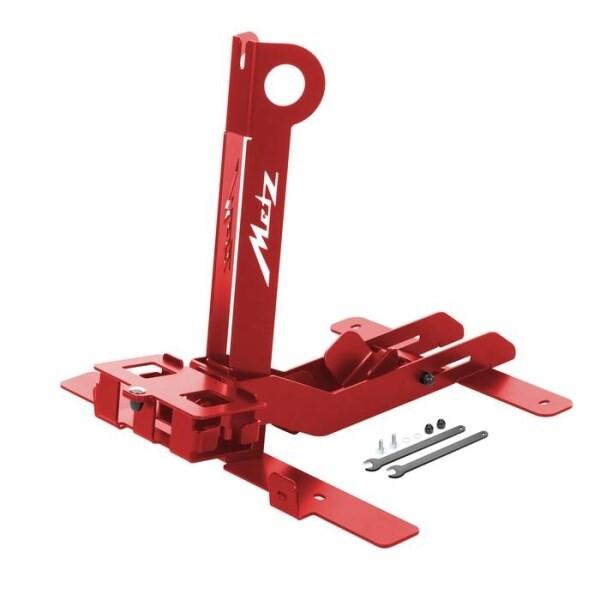 LOGO_Abstellständer für Metz moover in Rot