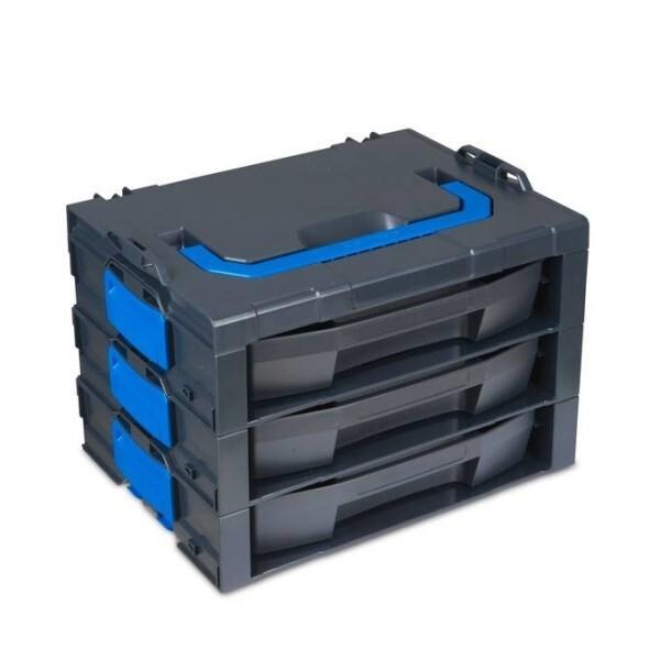 LOGO_i-BOXX Rack G 3-fach inkl. LS-Schubladen