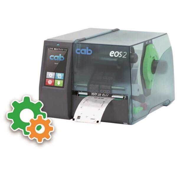 LOGO_Etikettendrucker EOS2/300 für Feinstaubplaketten und Plakettenträger inkl. Konfiguration
