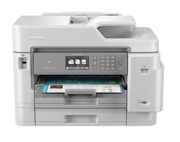 LOGO_MFC-J5945DW – Professionelles 4-in-1 Tinten-Multifunktionsgerät mit PCL6, PostScript 3 und DIN A3 Druck