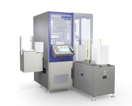 LOGO_MIKRON G05 Tray Handler – High performance, standardized tray handler for your automation solution