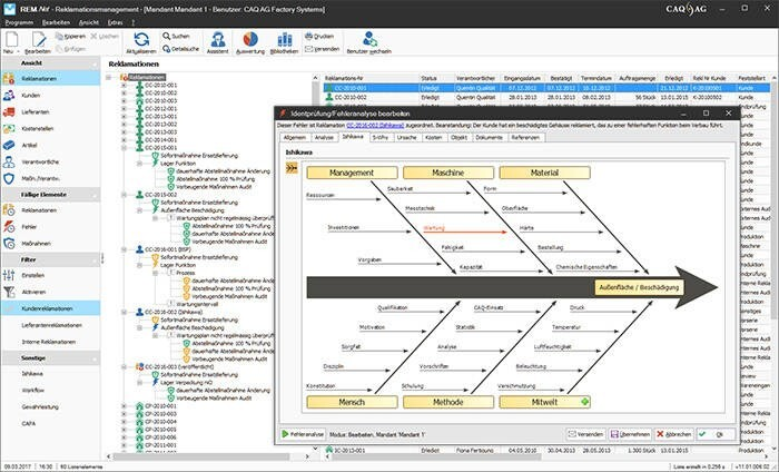 LOGO_REM.Net - Reklamationsmanagement / CAPA