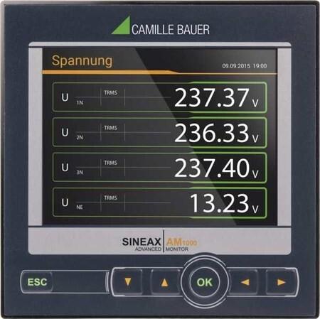 LOGO_Komplettgerät für die Messung und Überwachung in Starkstrom-Netzen