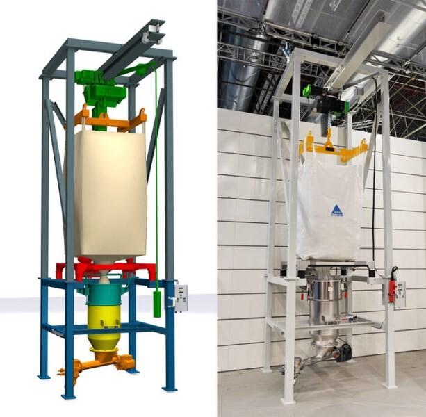 LOGO_Modular big bag discharge station – cost-effective an versatile