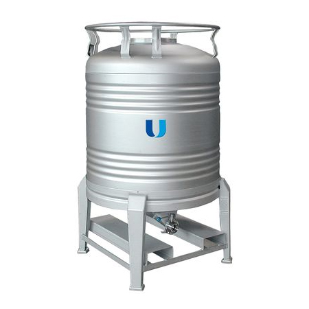 LOGO_Stainless steel container for food - Aseptic container - type ASC