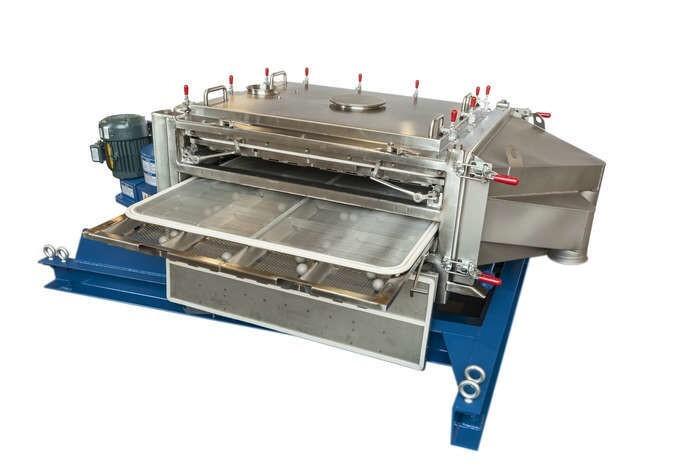 LOGO_APEX™ Siebmaschine für trockene Schüttgüter