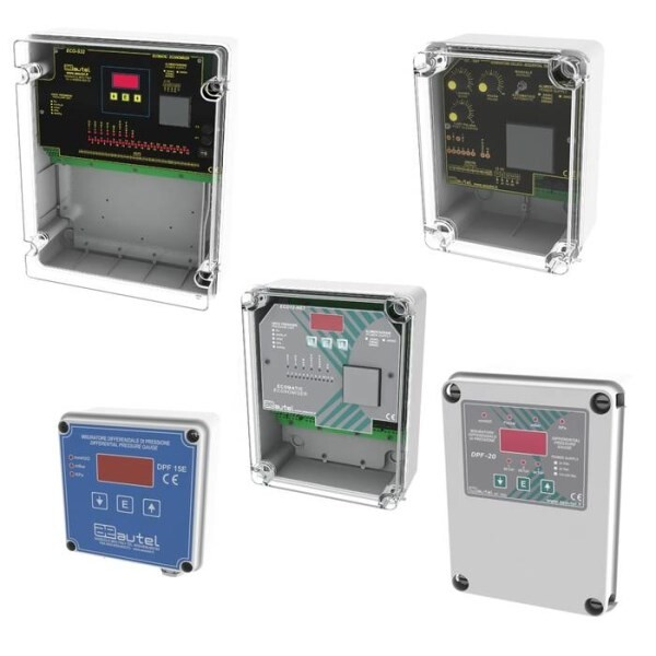 LOGO_ECONOMISER, CYCLICAL TIMER AND DIFFERENTIAL PRESSURE GAUGES