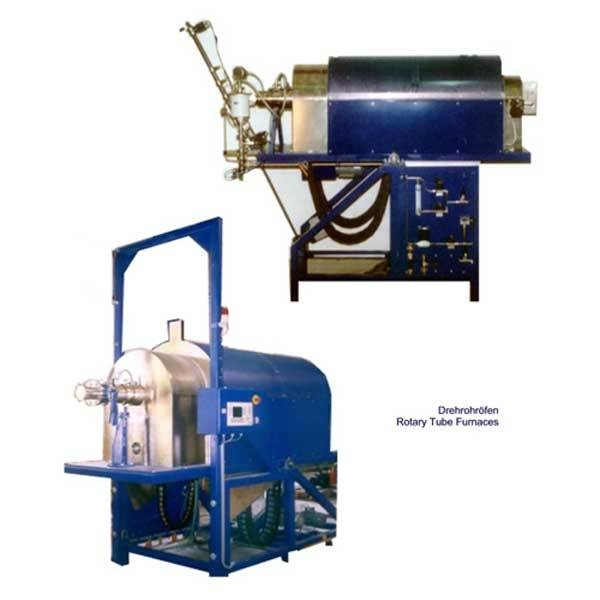 LOGO_Rotary tube furnace under controlled atmosphere