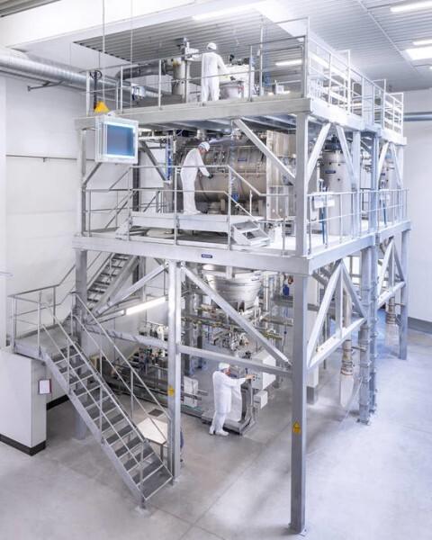LOGO_Kompakte Spezialmischanlage - Effizient, allergenfrei und platzsparend