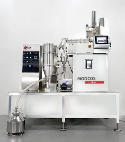 LOGO_MODCOS – The new continuous production line from Glatt