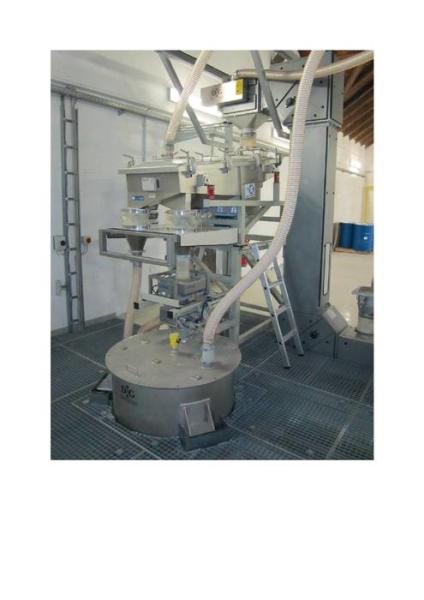 LOGO_Siebanlage mit Metallabschneider für Schüttgüter und Granulate