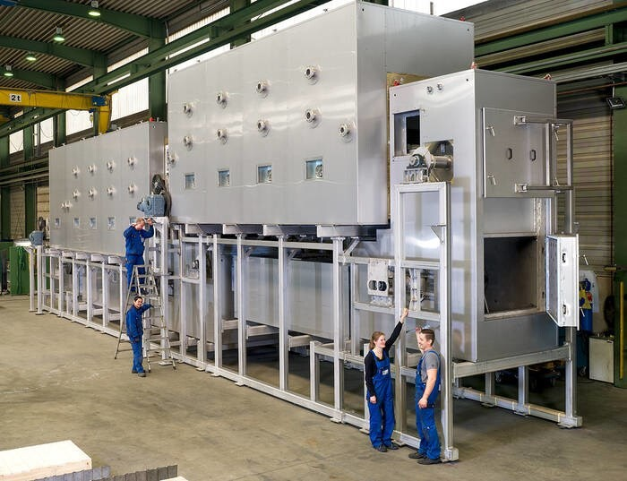 LOGO_Schüttgut-Bandkalzinierer für ein global agierendes Chemieunternehmen