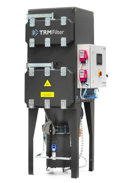 LOGO_The ECR Total Pharma Dust Collector for ultimate safety in process dedusting