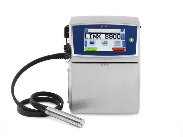 LOGO_Industrielle Tintenstrahldrucker // Continuous-Inkjet-Drucker // Linx 8900
