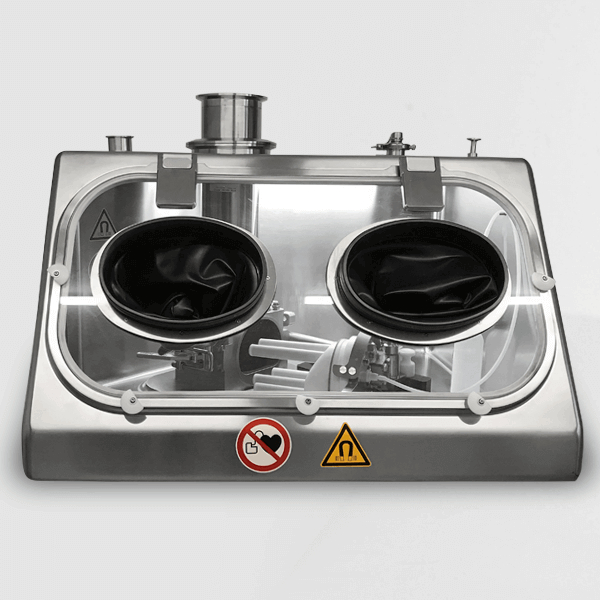 LOGO_Magnetic separator in Glovebox for toxic substances