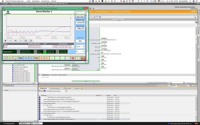LOGO_PLC based differential metering software