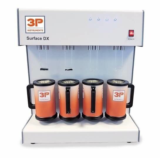 LOGO_3P surface DX: Gassorption