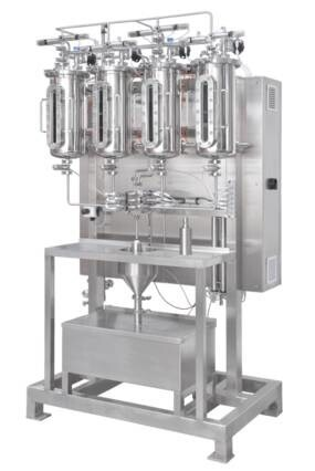 LOGO_Aseptic Filling Processes: Diaphragm valves used with a load cell