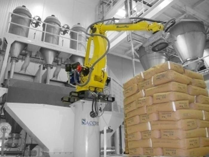 LOGO_SmartPick - Robotic bag opening (sack opening) and recipe preparation of powders - De-bagging - De-palletizing