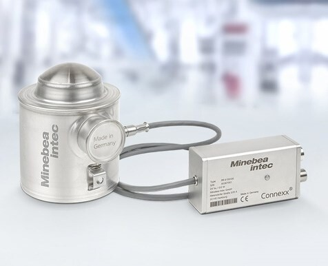 LOGO_Compression load cell Inteco®, converter Connexx ®