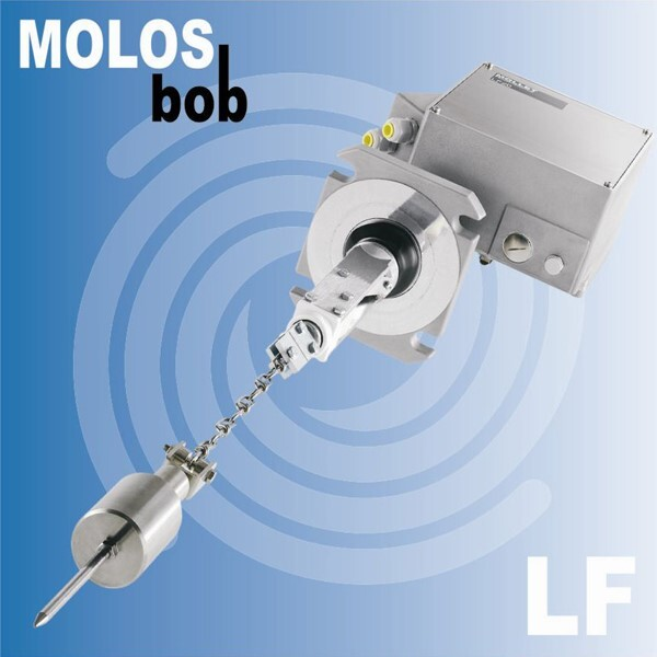 LOGO_Yo-Yo sensing level measurement with MOLOSbob series – continuous level indication for bulk solids
