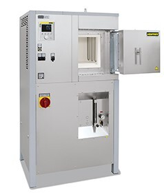 LOGO_HighTemperature Furnaces with Molybdenum Disilicide Heating Elements  with Fiber Insulation up to 1800 °C