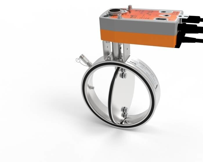 LOGO_100% gas tight butterfly valves