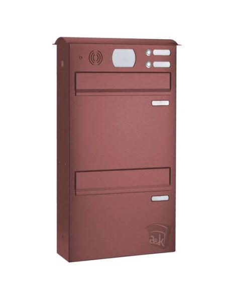LOGO_Doppelbriefkasten Edelstahl Farbe nach Wahl