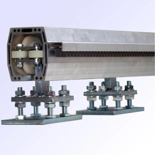 LOGO_Profile für freitragende Schiebetore in Aluminium