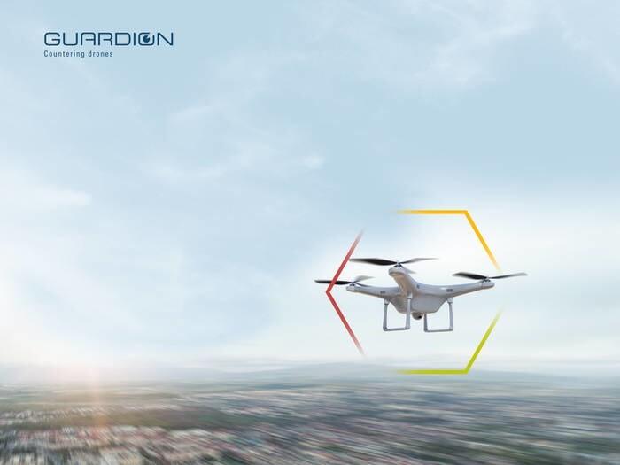 LOGO_GUARDION - Modulares Drohnenabwehrsystem
