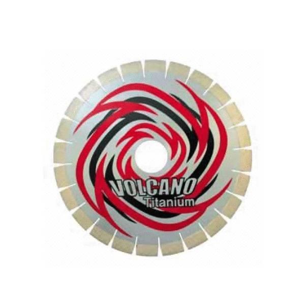 LOGO_Volcano Silent blade / Silver brazed / Wet cutting