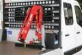 LOGO_Maxilift M50.2 ERS 12 mit Stützbeinsatz auf Pritsche