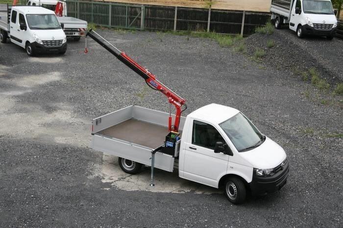 LOGO_Maxilift 110.2 auf Volkswagen T6 mit Pritsche