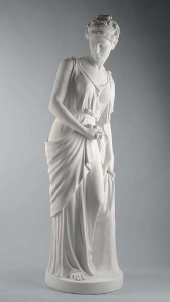 LOGO_Statue mod.1558 in reconstituted Carrara Marble