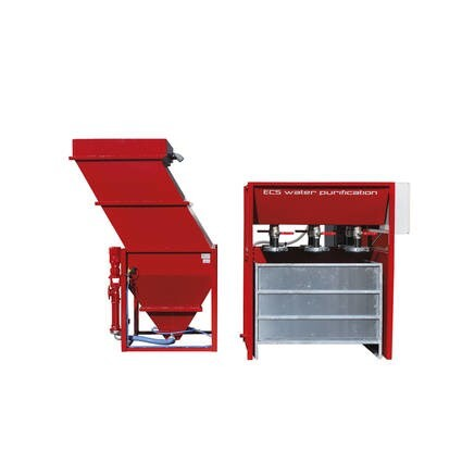 LOGO_VFB - base system with high clarifying performance and bag drying station