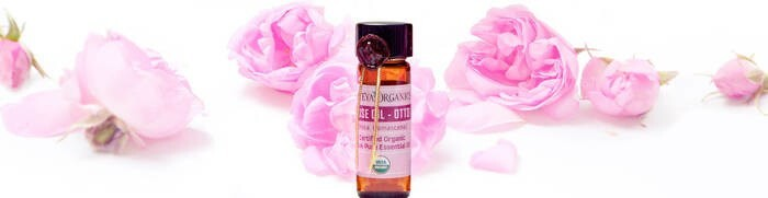 LOGO_100% Pure Organic Bulgarian Rose Oil Rosa Damascena