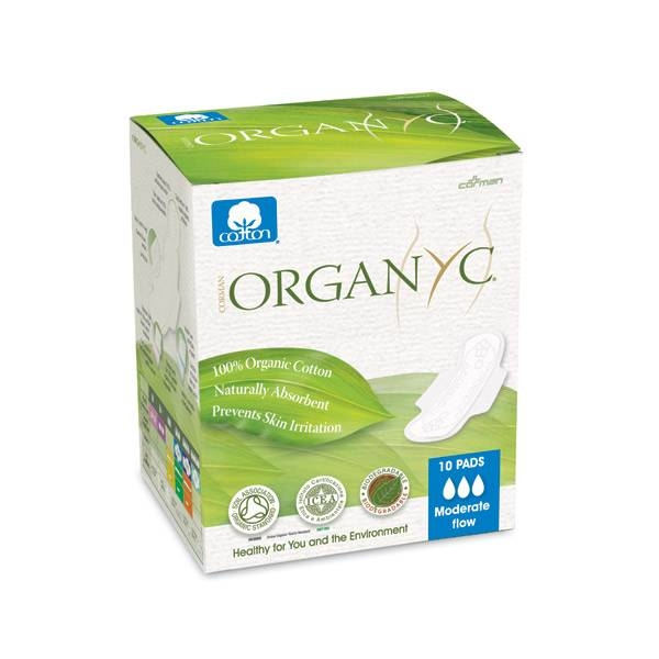 LOGO_ORGAN(Y)C - 100% organic cotton moderate flow pads