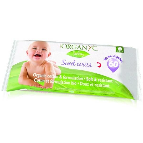 "LOGO_Organ(y)c ""Sweet Caress"" Baby Wipes"