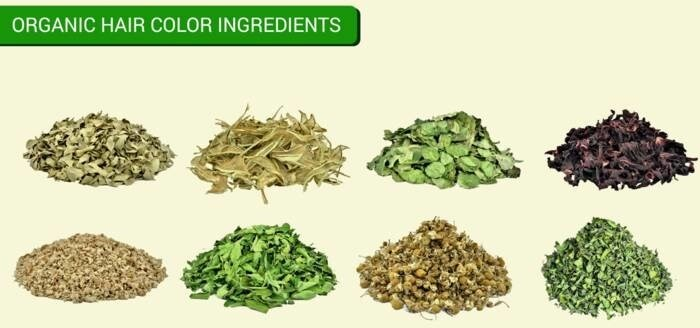 LOGO_100% Certified Organic Herbal Hair Colors Ingredients Fair For Life (Fair Trade)