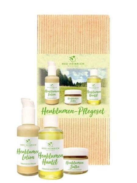 LOGO_Heublumen-Naturkosmetik im 3er Pflegeset