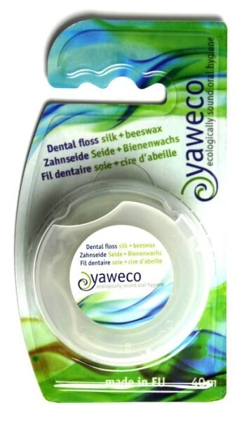 LOGO_Yaweco dental floss made of silk and beeswax
