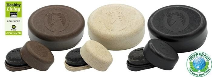 LOGO_soap box made out of liquid wood, PLASTIC-FREE