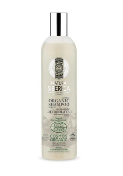 LOGO_Certified Organic Shampoo based on bur-marigold hydrolate Neutral For sensitive scalp