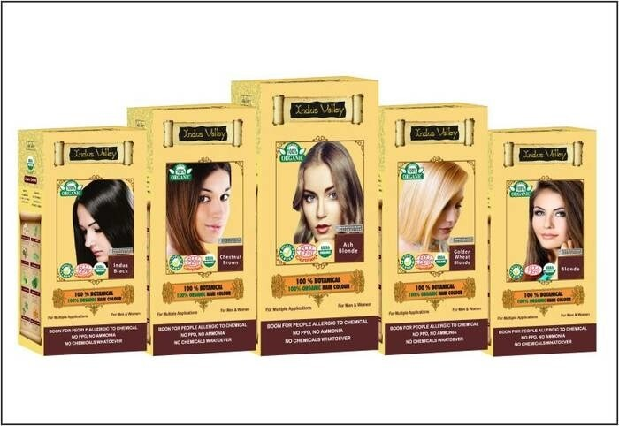 LOGO_Indus Valley  100% Botanical 100% Organic Hair Colour
