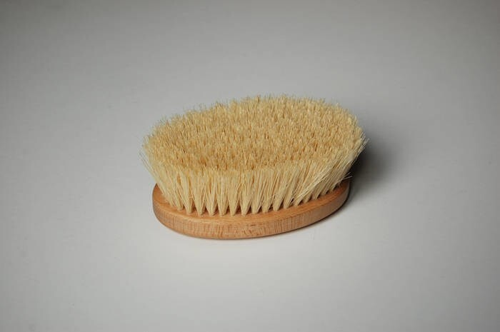 LOGO_Dry Body Brushing Oval Brush