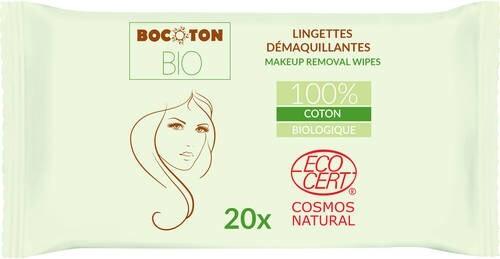 LOGO_Make-up removal wipes Bocoton BIO 20x