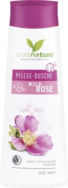 LOGO_cosnature Pflegedusche Wildrose