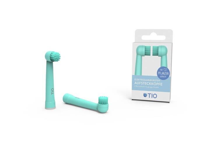 LOGO_TIOMATIK - plant-based electric toothbrush head