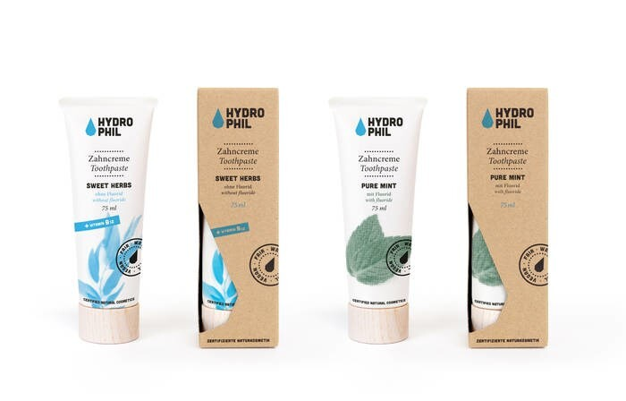 LOGO_Toothpaste Pure Mint und Sweet Herbst (with B12)